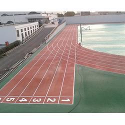 塑胶跑道球场施工_安徽塑胶跑道_合肥乘林体育设施(查看)图片