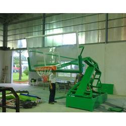焦作液压篮球架,冀中体育(在线咨询),学校用手动液压篮球架图片
