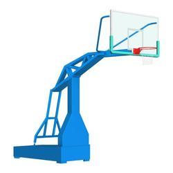 大学用液压篮球架|滨州液压篮球架|冀中业务图片