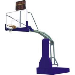 商洛液压篮球架|冀中体育公司|初中用手动液压篮球架图片