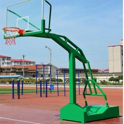 篮球馆用电控液压篮球架|蓟县液压篮球架|冀中体育(查看)图片