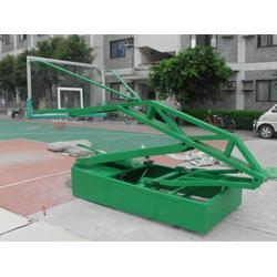 湖州液压篮球架,冀中业务,体育局用全自动液压篮球架图片