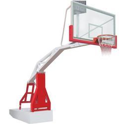 咸宁液压篮球架,冀中资讯,户外电控液压篮球架图片