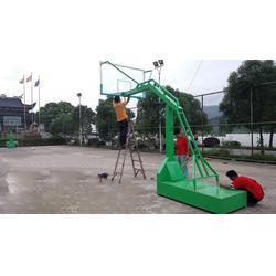 南宁移动篮球架、冀中体育公司、单臂移动篮球架成品图片