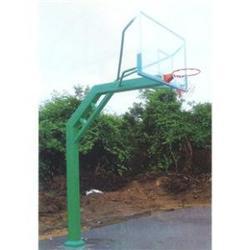 延庆固定篮球架,圆管固定篮球架安装,冀中体育公司图片