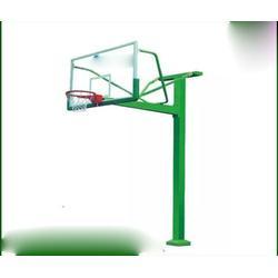 冀中体育公司|黄山固定篮球架|比赛圆管固定篮球架定制图片