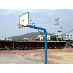地埋固定篮球架生产|琼海固定篮球架|冀中体育(查看)图片