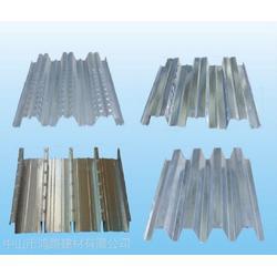 直销各规格楼承板开口式 闭口式楼承板供应镀锌板 镀锌钢板图片
