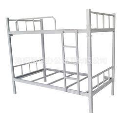傲德学生上下铺铁床 学生宿舍高低床图片