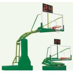 公园用遥控液压篮球架、楚雄液压篮球架、冀中体育(查看)图片