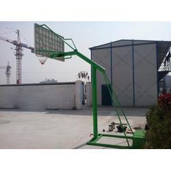 单臂移动篮球架定制、阳江移动篮球架、冀中体育(查看)图片