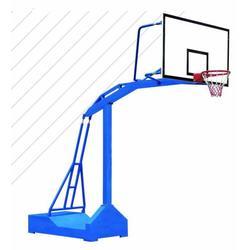 杭州移动篮球架、大弯移动篮球架定制、冀中体育(推荐商家)图片