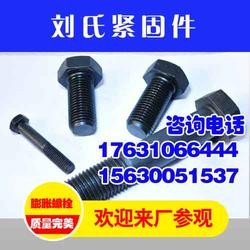 高强度螺栓、刘氏紧固件实力强劲、兴安盟高强度螺栓图片