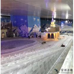 哈尔滨冰雪大世界设计_金诚冰雕_冰雪大世界图片