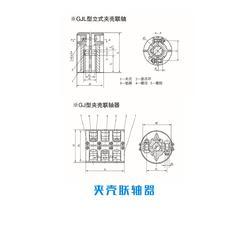 广东GJ型夹壳联轴器优质商家|孚克传动联轴器厂家(在线咨询)图片