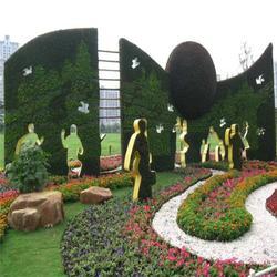 室内植物墙多少钱-曲靖植物墙-美尚园艺-实惠(查看)图片