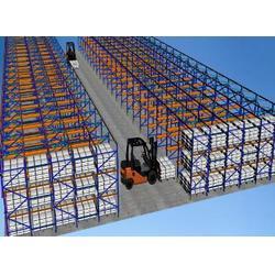 贯通式货架生产厂-苏州中仓仓储货架-泰州贯通式货架图片