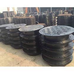 晋中重型防沉降铸铁井盖生产厂家图片