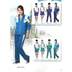 蒙自学校校服多少钱-蒙自学校校服-丽雅服饰图片