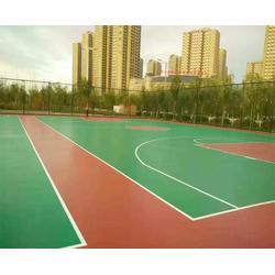 合肥秀珀建设工程 塑胶球场施工-淮北塑胶球场图片