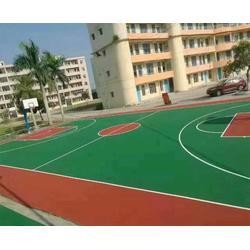 塑胶球场地坪 合肥秀珀(在线咨询) 安徽塑胶球场图片