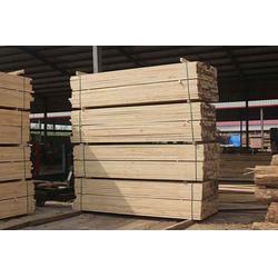 樟子松建筑方木厂商、樟子松建筑方木、辰丰木材加工厂供应图片