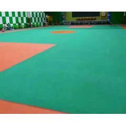 黄山塑胶球场|合肥秀珀建设工程公司|运动馆塑胶球场图片