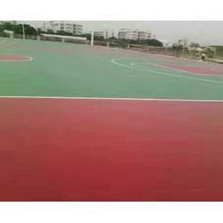合肥秀珀建设工程公司(图)、塑胶球场报价、合肥塑胶球场图片