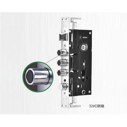 防盗门锁体厂家,步先锁业(在线咨询),防盗门锁体图片