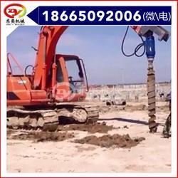 钻坑机 螺旋钻机 液压螺旋钻土 东奕机械图片