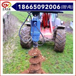 挖掘机械螺旋钻机 钻坑机液压螺旋钻洞机 东奕机械图片