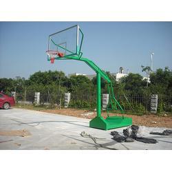 顺义区篮球架,鑫海文体公司,地埋篮球架多少钱一套图片