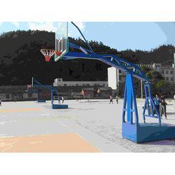 固定式篮球架加工_鑫海文体(在线咨询)_常州篮球架图片