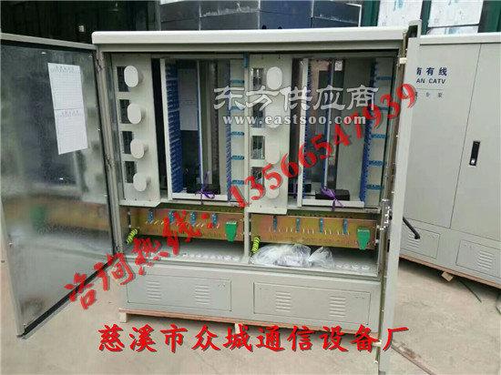 648芯光缆交接箱安装方式介绍图片