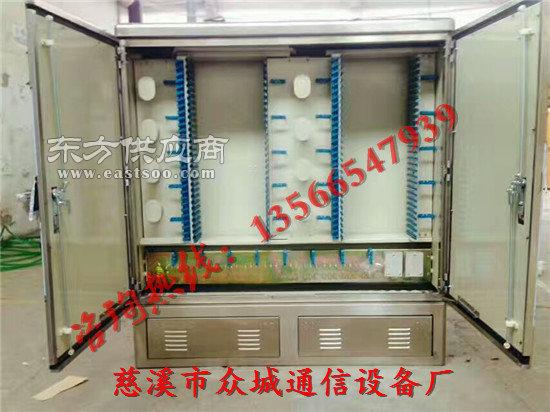 1440芯不锈钢光缆交接箱指导图片