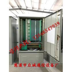 504芯光缆交接箱内部结构配置图片