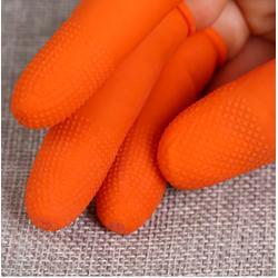 中亿橘红色防静电指套图片