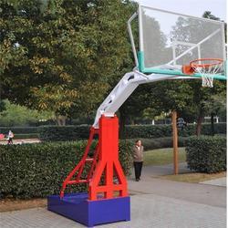 简易凹箱篮球架、克拉玛依篮球架、益泰公司图片