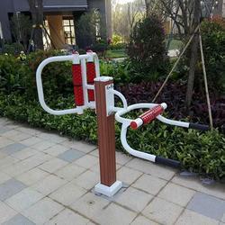 河西區塑木路徑-塑木路徑棋盤桌生產廠家制作優良-益泰體育制造圖片