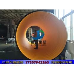 新安钢带螺旋波纹管800 钢带波纹管连接视频图片