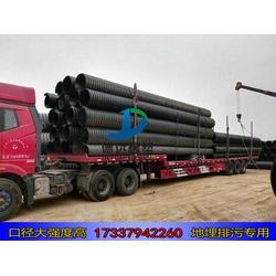 hdpe钢带增强缠绕管波纹管污水管1300 hdpe1300缠绕管图片
