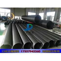 hdpe钢带增强缠绕管波纹管污水管1200 hdpe1200缠绕管图片