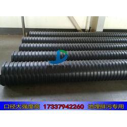 DN500壁厚5mm钢带波纹管生产厂家 钢带污水管厂家图片