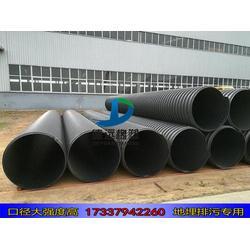 钢带波纹管规格厂家 钢带缠绕管型号图片