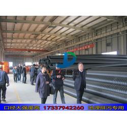 hdpe钢带增强缠绕管波纹管污水管1000  hdpe1000缠绕管图片