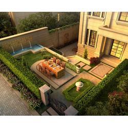 私人中式庭院設計-合肥中式庭院設計-安徽天倫市政建設公司圖片