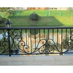 铁艺护栏-山西达美铁艺定制-围墙铁艺护栏图片