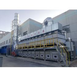 rco催化燃烧设备处理非甲烷总烃与活性炭吸附法对比图片