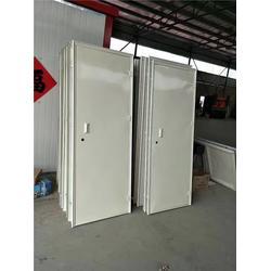铁皮单板门,压花钢板,单板门厂家图片