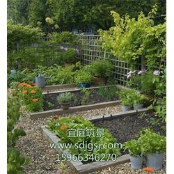 别墅绿化设计施工图片